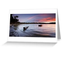Eggs and Bacon Bay Sunset Greeting Card