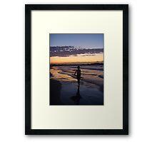 cool surfer dude. Framed Print