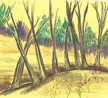 country copse by wormink