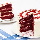 A Big Red Cake by Anne Gilbert