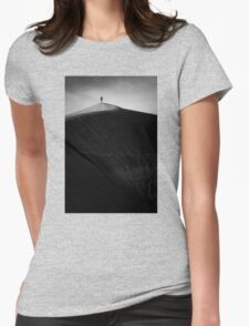 Sand dune summit Womens Fitted T-Shirt