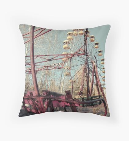 Waiting, Still Throw Pillow