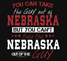 You Can Take The Guy Out Of Nebraska! One Piece - Short Sleeve