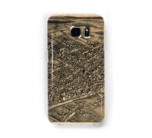 Panoramic Maps View of Albion NY 1880 Samsung Galaxy Case/Skin