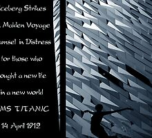 Iceberg Strikes Titanic  14 April 1912 by ragman