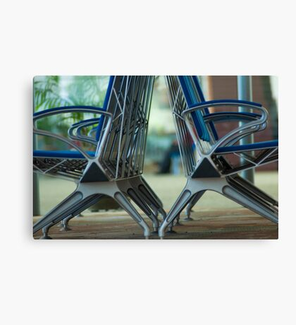 In row Sir...Got 2 Featured Works Canvas Print