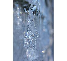 Frozen Ice Hand Photographic Print