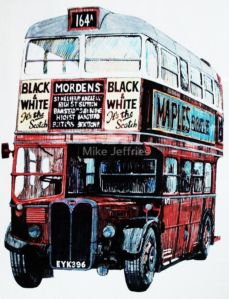 London Transport RT 1 in colour by Mike Jeffries