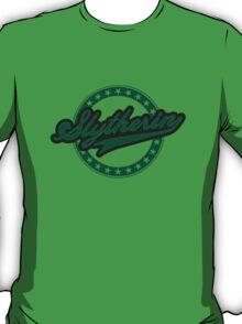 Slytherin Baseball Style Logo T-Shirt