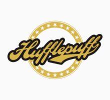 Hufflepuff Baseball Style Badge by liquidsouldes