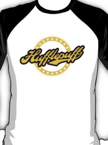 Hufflepuff Baseball Style Badge T-Shirt
