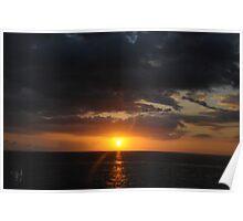 Sunset - December 27, 2011 Poster