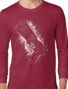 The system holds justice at gunpoint Long Sleeve T-Shirt