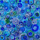 Blue counterpoint by Regina Valluzzi