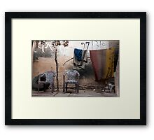 Easy Chairs Framed Print