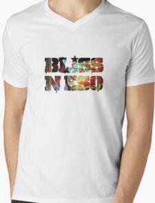 Bliss N Eso - Flying Colours Mens V-Neck T-Shirt