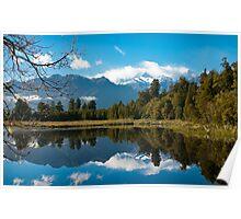 Lake Matheson, New Zealand Poster