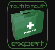 Mouth to mouth expert by Red23UK