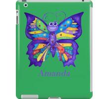 A Yoga Butterfly for Amanda iPad Case/Skin
