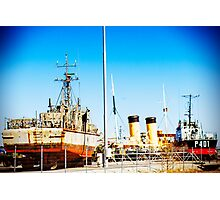 Ships Ahoy! Photographic Print