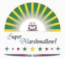 Super Marshmallow! (black text) by skyewalkerr