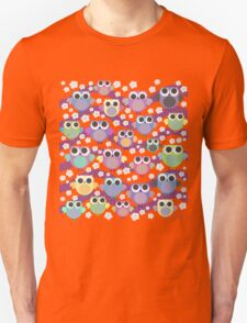 colorful owls T-Shirt