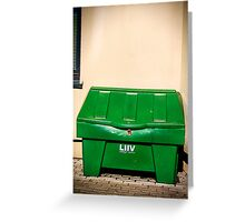 Juhan Lives Here Greeting Card