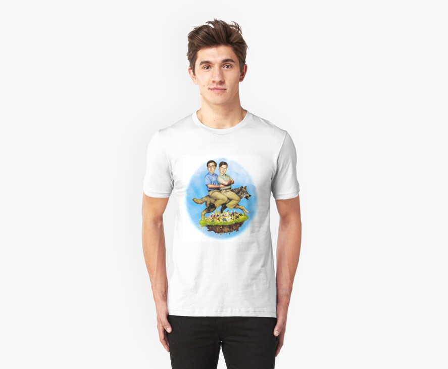 Tim and Eric's Billion Dollar Movie T-Shirt by lettucefiends