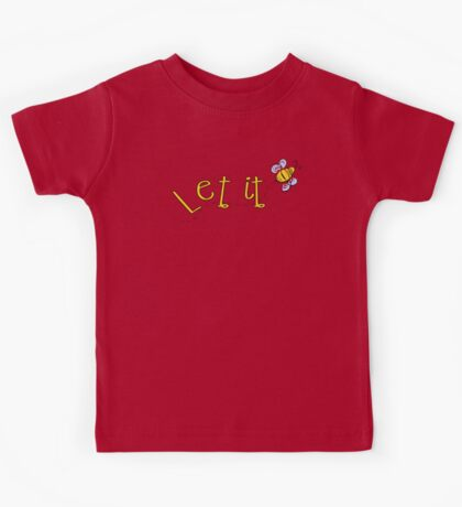 Let it Bee Kids Tee