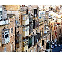 The Maltese Balcony Photographic Print