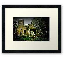 St Werburgh's Church Framed Print