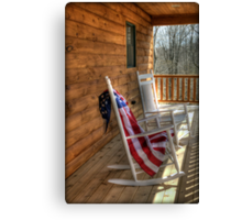 Patriotic Rockers Canvas Print