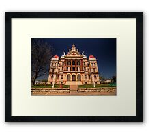 Coryell County Courthouse - Gatesville, Texas Framed Print
