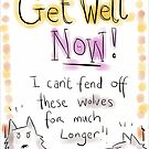 GET WELL WOLVES  by twisteddoodles