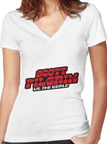 Scott Pilgrix Women's Fitted V-Neck T-Shirt