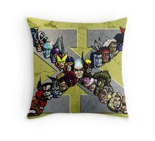 X Men Throw Pillow