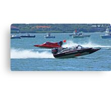 boat races Canvas Print