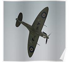Spitfire Dive Poster