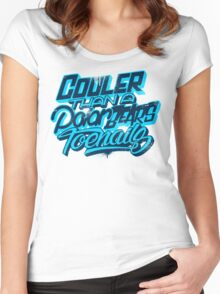 Cooler Than A Polar Bear's Toenails Women's Fitted Scoop T-Shirt