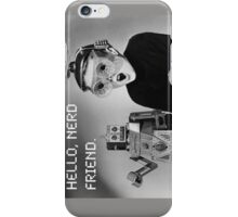 Friendly Robot and Nerd iPhone Case/Skin