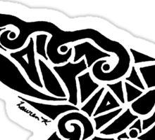 Sperm Whale Tribal Design  Sticker