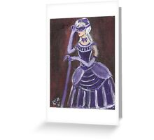 The Unmasking Greeting Card