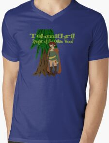 Tabmithril, Ranger of the Oaken Wood! Mens V-Neck T-Shirt