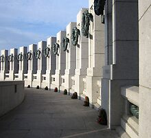 WW II Memorial, Washington D.C. by Bine