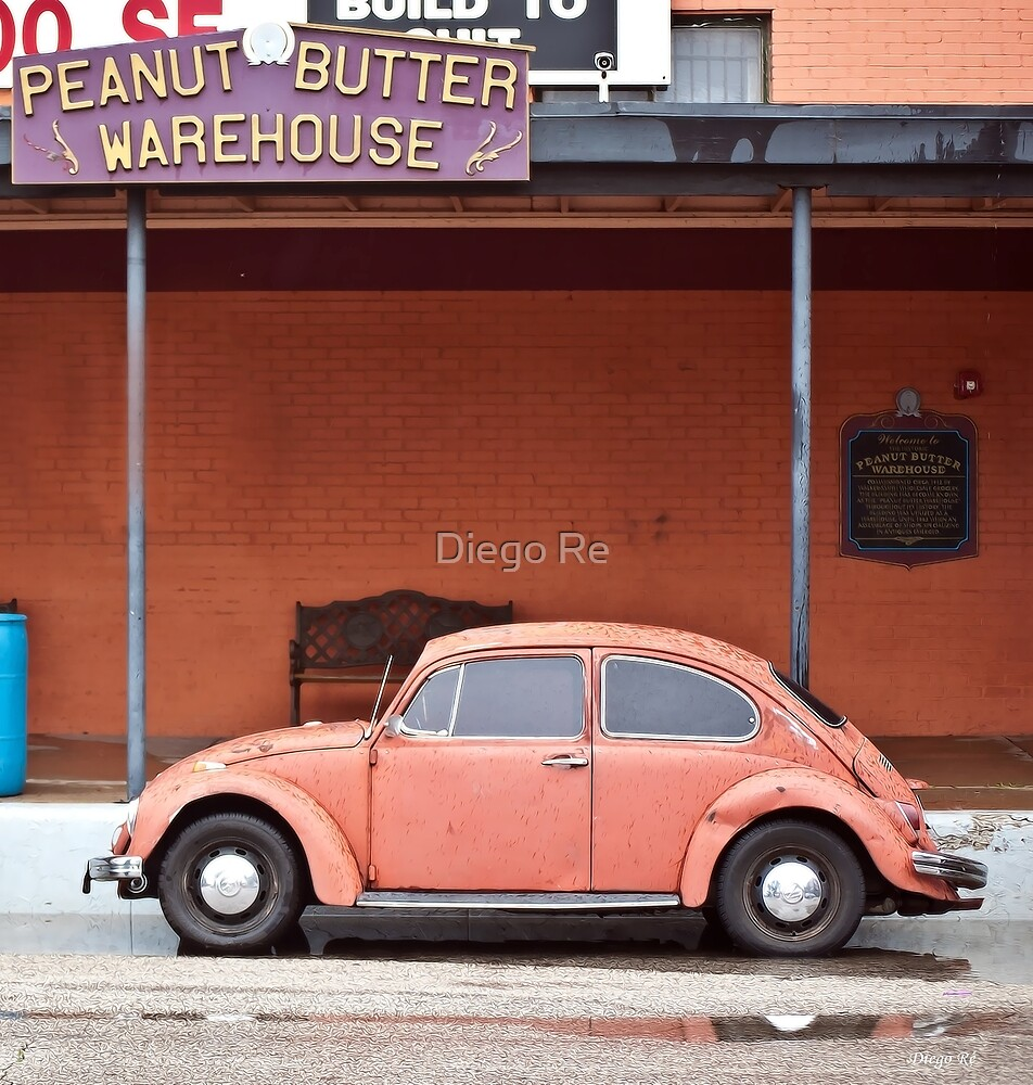 Peanut Butter Car by Diego Re