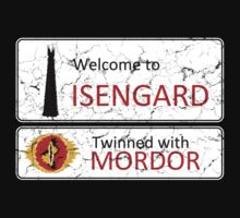 Isengard Twinned With Mordor by Fiona Reeves