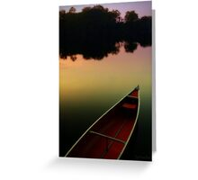 Twilight at the Quarry Greeting Card