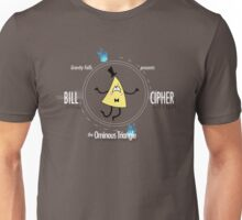 Bill Cipher the Ominous Triangle Unisex T-Shirt