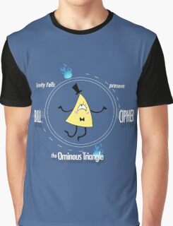 Bill Cipher the Ominous Triangle Graphic T-Shirt