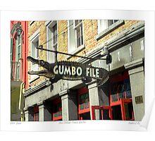 """Gator Gumbo""   Poster"